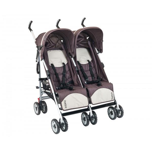 Carrinho de Bebê Duetto Brown