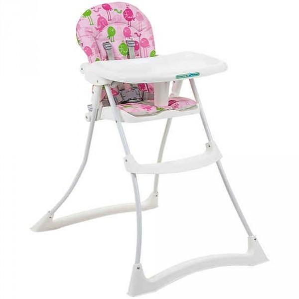 Cadeira de Papa Bom Appetit Passarinho Rosa