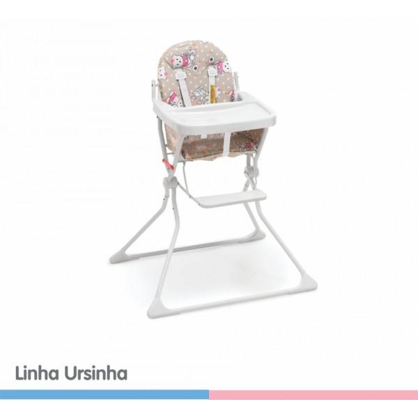 Cadeira de Papa Alta Standard ll Ursinha
