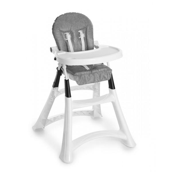 Cadeira de Papa Alta Premium Cinza