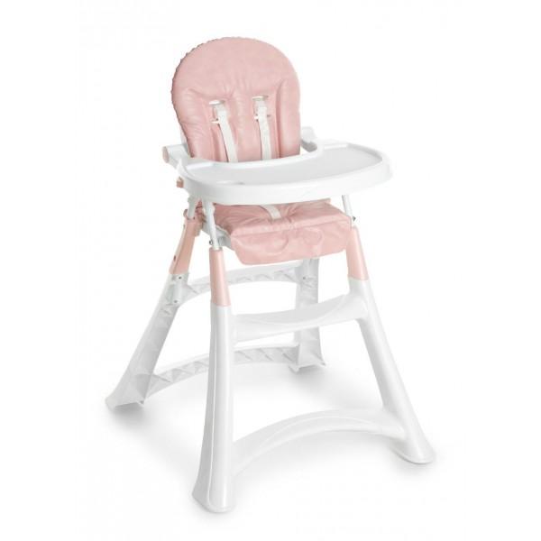 Cadeira de Papa Alta Premium Rosa