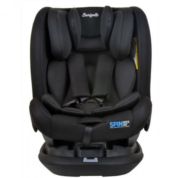 Cadeira Para Autos Spin Preta Burigotto
