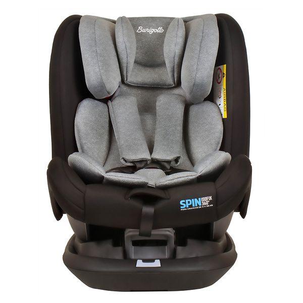 Cadeira Para Autos Spin Cinza Burigotto