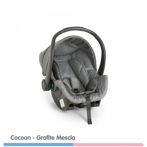 Bebê Conforto Cocoon Grafite Mescla