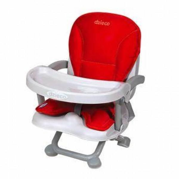Cadeira de Papa Dzieco Zyce ll Vermelha