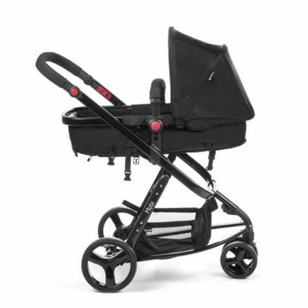 Carrinho de Bebê Mobi TS Full Black