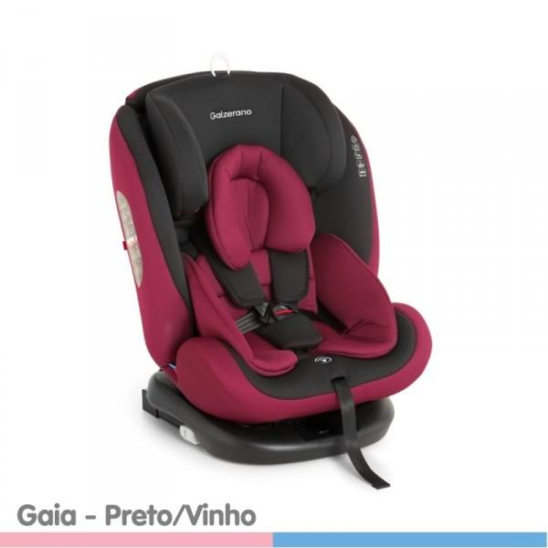 Cadeira Para Autos Gaia Preto/Vinho