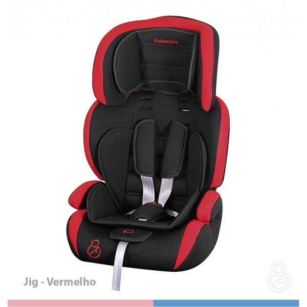 Bebê Conforto Jig Preto/Vermelho