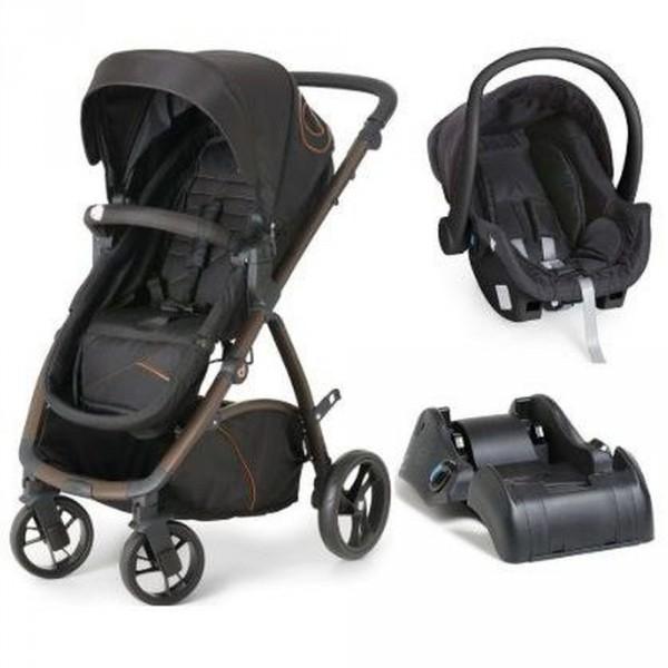 Carrinho de Bebê Maly + Bebê Conforto + Base
