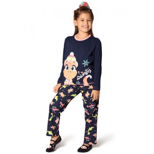 Pijama Manga Longa Dina (Tam 2 a 6)