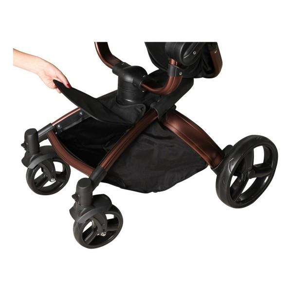 Carrinho de Bebê Vulkan Com Bebê Conforto