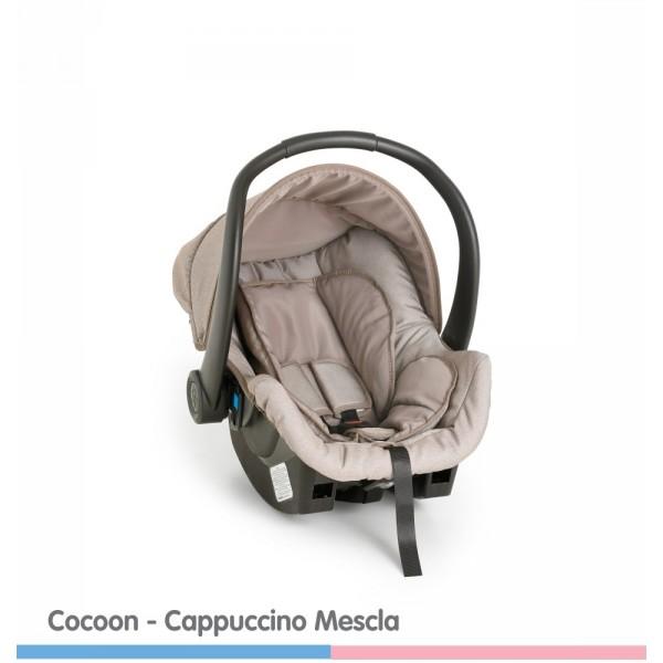 Bebê Conforto Cocoon Cappucinno Mescla