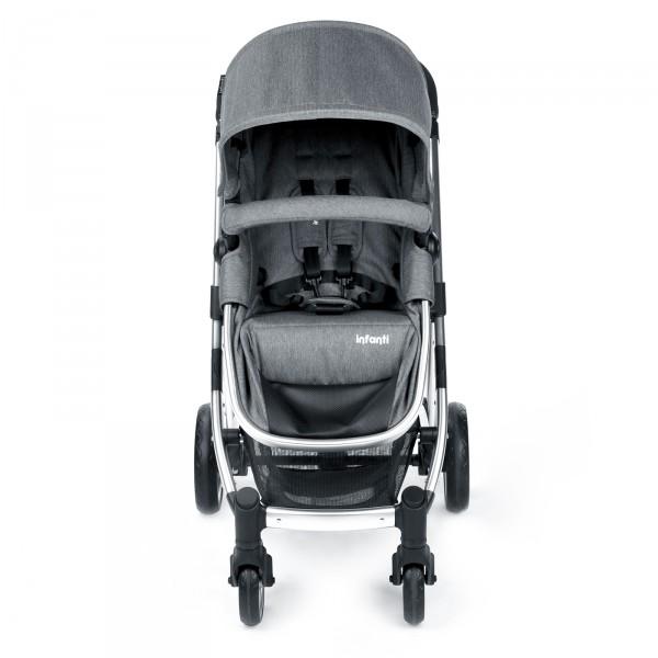Carrinho de Bebê Epic Trio Travel System Grey Ste...