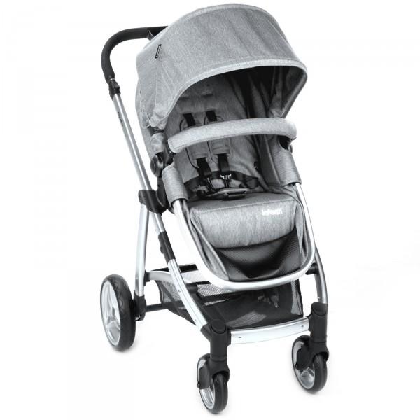 Carrinho de Bebê Epic Trio Travel System Grey Steel